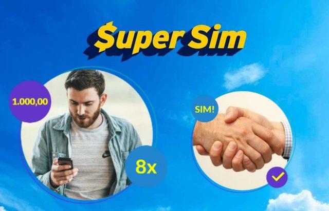 SuperSim aceita empréstimo para negativados | SM